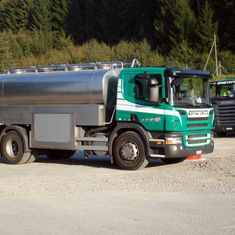 Cotting et Fils - camion transport de petit lait - Arconciel
